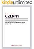 ツェルニー50番練習曲~指使いの技法~【Book4-6】 CZERNY Op.740 3線譜,クロマチックノーテーション