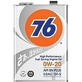 76 LUBRICANTS エンジンオイル 0W-20 4L 4輪ガソリン車専用 全合成油 API SN PLUS/ILSAC GF-5