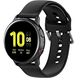 TERSELY 20mm Replacement Band for Samsung Galaxy Gear Watch Active/Active 2 40mm /44mm Sports Silicone Watch Strap Watchband