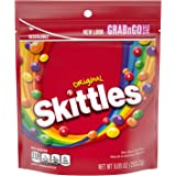 SKITTLES Original Fruity Candy, 9-Ounce Grab n Go Size Bag