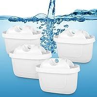 ポット型 浄水器用 カートリッジ【ブリタ マクストラ プラス BRITA MAXTRA PLUS】に適用 互換用フィルタ…