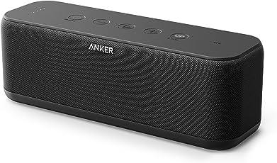 Anker SoundCore Boost (20W Bluetooth4.2 スピーカー スタイリッシュデザイン)【迫力ある低音/IPX5防水規格/モバイルバッテリー機能搭載】