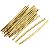 Timiy Gold 2.4Inch/60mm Frets for Strat Guitar Copper Fret Wire Fingerboard 24pcs