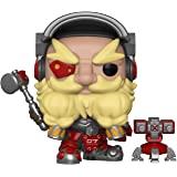 Funko FU32278 POP! Games: Overwatch #350 Torbjorn Play Figure