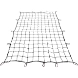 Orion Motor Tech 4x6 ft Heavy Duty Cargo Net for Pickups SUVs Vans Semis | 8x12ft Max Bungee Cord Net for Truck Bed Roof Rack