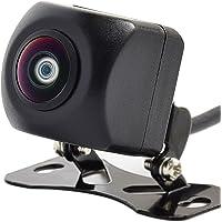 バックカメラ リアカメラ/フロントカメラ可能 高画質 小型カメラ 超強暗視 超広角水平160°/垂直120° 角度調整可能 正像・鏡像/ガイドライン有り・ガイドライン無し切替 防水IP67 日本語マニュアル【24ヶ月保証】