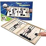 Large Size Slingshot Board Game Fast Sling Puck Game Family Board Games Slingshot Board Games for Adults and Kids Foosball Bo