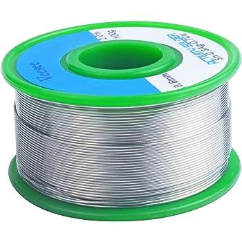 [veesee] ヤニ入りハンダ 無鉛 糸半田 鉛フリーはんだ 銀入りハンダ 溶接ワイヤー 低融点 線径 0.6mm 100g Sn-0.3Ag-0.7Cu スズ-銀-銅 合金 (0.6mm)
