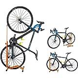 GORIX(ゴリックス) 自転車 スタンド [縦置き 横置き 掛置き 3タイプ] メンテナンス 簡易スタンド (ホイール&ステースタンド) HS-013D