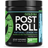 Gold BJJ PostRoll - Jiu Jitsu Post Workout Supplement with EAA & BCAA Essential Amino Acids - Martial Arts Specific Post-Work