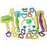 Inxens Playdough Sets for Kids Ages 4-8 Girls Boys Non Toxic Playdough Toys Tools