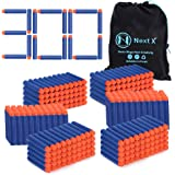 Blaster Darts, NextX 300 Pack Refill Bullets for Nerf N-Strike Elite, Toys Foam Blasters for Boys Party Favors, With Portable