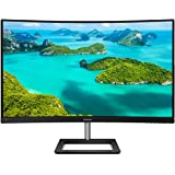 "Philips 328E1CA 32"" Curved Monitor, 4K UHD (3840x2160), 1 Billion+ Colors, 4ms, 97.8% NTSC/120% sRGB, Adaptive-Sync, DP/HDMI,"
