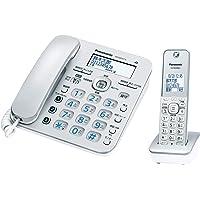 パナソニック RU・RU・RU デジタルコードレス電話機 子機1台付き 迷惑電話相談機能搭載 シルバー VE-GD37D…