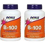 【2個セット】 [海外直送品] ビタミンB100 コンプレックス(11種類のビタミンB群をバランスよく高含有)(海外直送品)