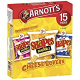 Arnott's Shapes Cheeselovers, 345 g, Variety 15 Pack