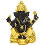 F Fityle Rare Lord Ganesha Figurine Hindu Elephant God Buddha Statue Home Living Room Mandir Diwali Table Feng Shui Decoratio