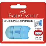 Faber-Castell Combi 1 Hole Sharpener and Eraser, (81-183692)