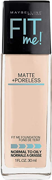 Maybelline Fit Me Matte & Poreless Mattifying Liquid Foundation - Fair Porcelain 102