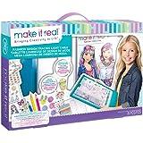 Make It Real - Fashion Design Mega Set with Light Table. Kids Fashion Design Kit Includes Light Table, Coloured Pencils, Sket