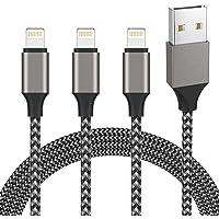 iPhone 充電ケーブル ライトニングケーブル 2M 3本セット アイフォン USB 充電コード Lightning…
