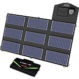 X-DRAGON ソーラーパネル 70W 折りたたみ式 ソーラーチャージャー (5V USB SolarIQ技術+18V…