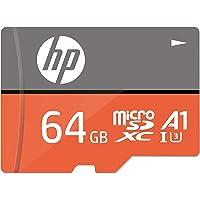 【Amazon.co.jp 限定】HP microSDXCカード 64GB オレンジ A1 UHS-I(U3) 4K U…