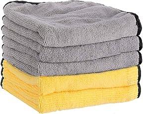 洗車タオル マイクロファイバークロス 吸水 速幹 珊瑚の絨 洗車クロス 車を洗濯し、掃除し、磨き、乾燥する時に使われたタオル ふんわりタッチ5個