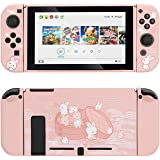 GeekShare Protective Case for Nintendo Switch, Soft TPU Slim Case Cover Compatible with Nintendo Switch Console and Joy-Con (