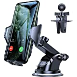 VICSEED Car Phone Mount,Suction Cup Phone Holder for Car Phone Mount for Car Dashboard Windshield Vent Hands Free Cell Phone