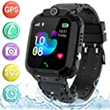 "Kids Smartwatch GPS Tracker Phone - 2019 New Waterproof Children Smart Watches with 1.4"" Touch Screen SOS Phone Call Talkie W"