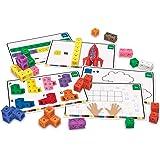 ラーニングリソーシズ Math Linkシリーズ 算数アクティビティセット キューブ ブロック 100個入り LER4286 正規品