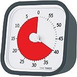 【正規品】TIME TIMER タイムタイマー モッド 9cm 60分 チャコールグレイ TTM9-W 時間管理