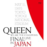 WE ARE THE CHAMPIONS FINAL LIVE IN JAPAN(通常盤BD+解説書付き)(特典なし) [Blu-ray]