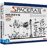 スペースレール(SPACE RAIL) 無限ループ スペースレール パズル 知育 脳トレ ジェットコースターのような未来的知育玩具 インテリアとしても存在感大 (レベル5)