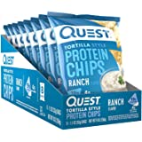 Quest Tortilla Ranch Chips 32g, 8 count