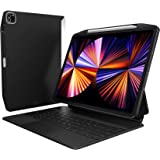 【SwitchEasy】 iPad Pro 12.9 2021 対応 ケース Apple Pencil 充電 ペン収納 カバー 純正 Magic Keyboard Smart Keyboard Folio 対応 保護ケース [ Apple iPadP