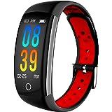 IP68 Fitness Tracker Blood Pressure Heat Rate Monitor Smart Watch Blood Oxygen Sleep Monitor Activity Tracker Pedometer Watch