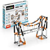 Engino Discovering STEM Structures Constructions & Bridges | 9 Working Models | Illustrated Instruction Manual | Theory & Fac