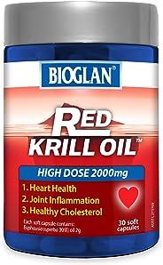 Bioglan BG Red Krill, 2000mg (30s), 0.12 Kilograms