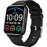 """Smart Watch 2021 Ver. Watches for Men Women, Fitness Tracker 1.69"""" Touch Screen Smartwatch Fitness Watch Heart Rate Monitor,"""