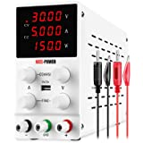NICE-POWER Variable Bench Power Supply (0-30V, 0-5A) 4Digital LED Display DC Power Supply Adjustable Regulated Higher-Precisi