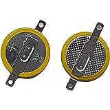 TM 【10個セット】CR1616 タブ付き 3V ボタン電池 CMOS バックアップ ゲームボーイなどに