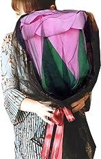 (POMAIKAI) 大きい バラ 造花 サプライズ プレゼント 誕生日 結婚記念日 プロポーズ フラワーギフト