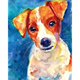 """Jack Russell Terrier Art Print 