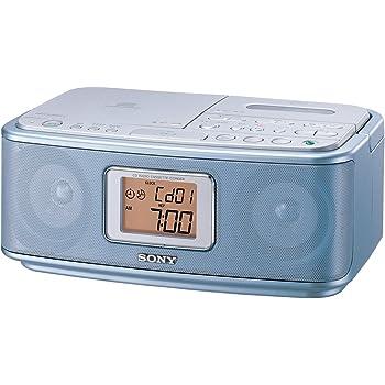 ソニー SONY CDラジオカセットレコーダー CFD-E501 : FM/AM対応 ブルー CFD-E501 L