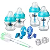 Tommee Tippee Advanced Anti-Colic Newborn Feeding Value Pack, Blue