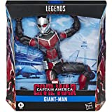 "Hasbro Marvel Legends Series Build-A-Figure Deluxe 6"" Scale Collectible Action Figure Giant-Man Toy, Premium Design, for Kids"