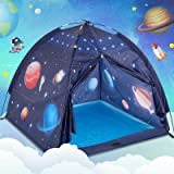 Play Tent for Kids, Gentle Monster Space World Tent, Universe Tent Indoor Playhouse for Boy, Imaginative Gift for Toddlers &