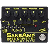 Tech21 SANSAMP サンズアンプ ベース用 エフェクター DI BOX BASS DRIVER DI V2【国内正規品】